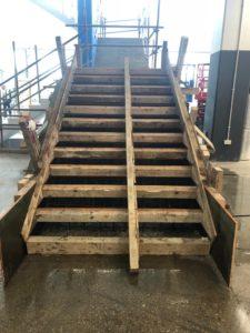 stair formwork